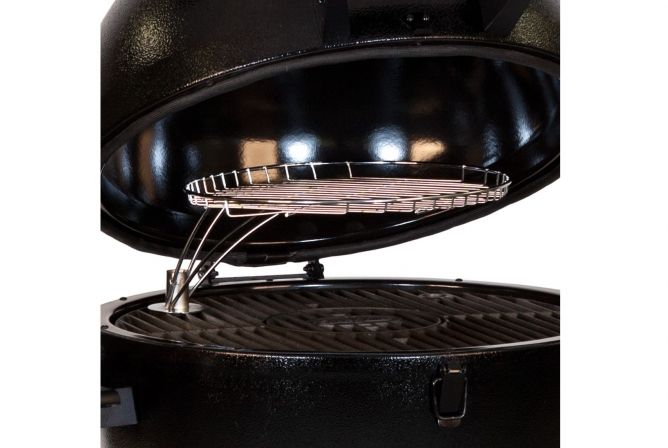 Char-Griller AKORN Kamado 16620 Review Warming Rack