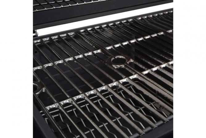 Dyna-Glo Premium Charcoal Grill Review Porcelain Enamel Cast Iron Grates
