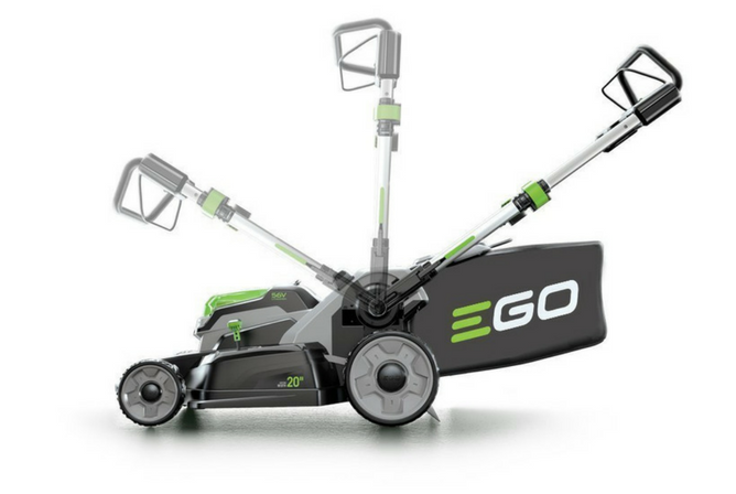 EGO Power+ 20-Inch 56-Volt Lithium-ion Cordless Lawn Mower folding