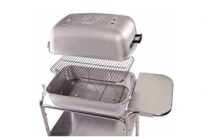 Original PK Grill and Smoker Review Lid Detaches