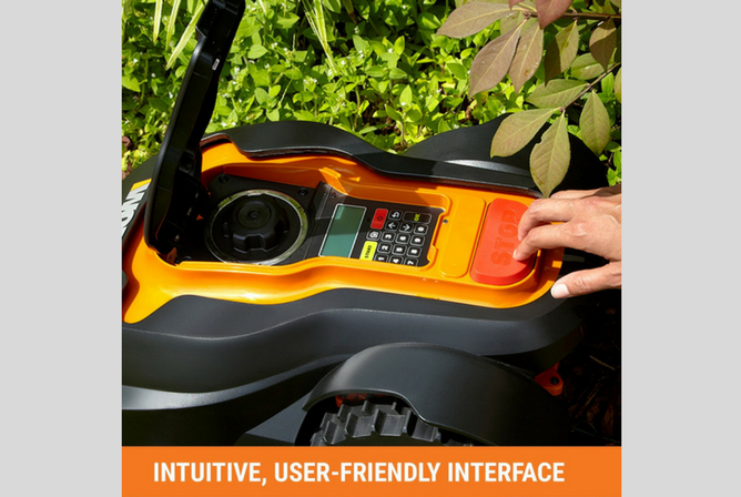 WORX WG794 28-volt Landroid Robotic Lawn Mower interface