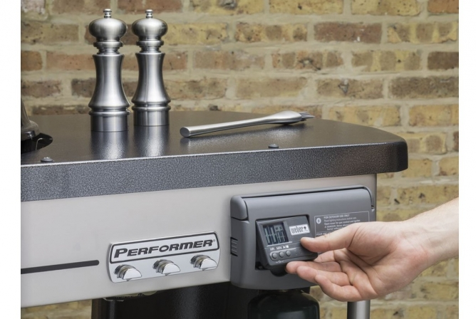 Weber Performer Deluxe Charcoal Grill Review Timer