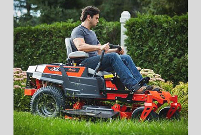 Ariens IKON-XL 60 Zero Turn Mower 24HP Kawasaki in use