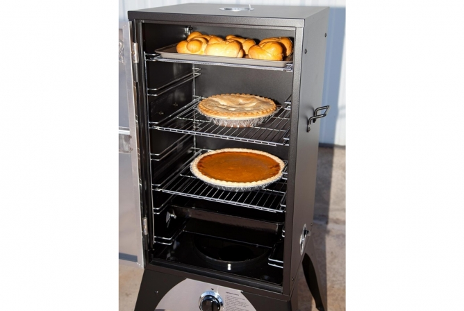 Camp Chef Smoke Vault 24 Inch Review Good for Baking