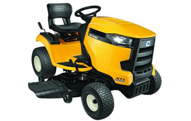 "Cub Cadet XT1 Enduro Series LT42"" Kohler Hydrostatic Gas Front-Engine Lawn Tractor full view"