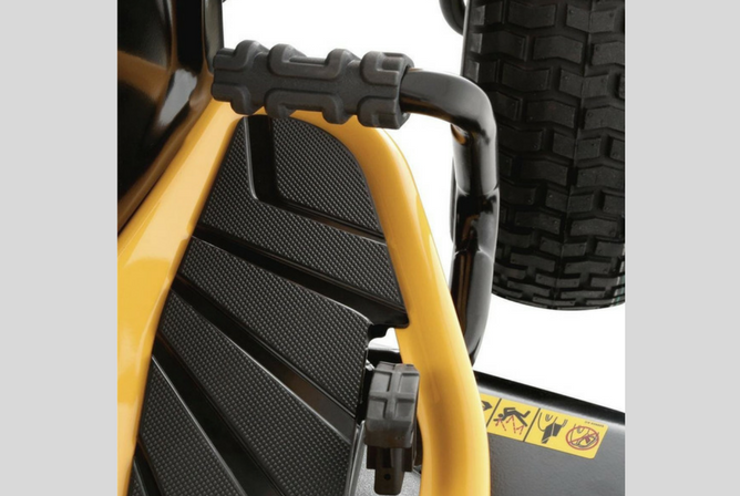 "Cub Cadet XT1 Enduro Series LT42"" Kohler Hydrostatic Gas Front-Engine Lawn Tractor comfort grip"