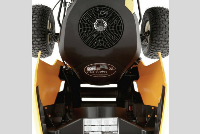 "Cub Cadet XT1 Enduro Series LT42"" Kohler Hydrostatic Gas Front-Engine Lawn Tractor motor"