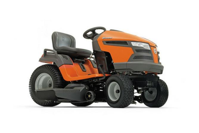 Husqvarna 960430216 YTH22V42 22V 42 Twin Hydro Pedal Tractor Mower full view