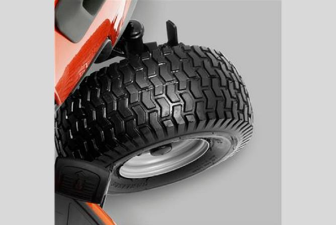 Husqvarna 960430216 YTH22V42 22V 42 Twin Hydro Pedal Tractor Mower wheels