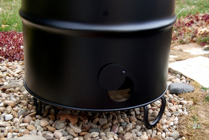 Pit Barrel Cooker Review Bottom Damper