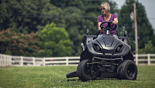 Raven MPV7100 Series Hybrid Riding Lawnmower Power Generator and Utility Vehicle Review