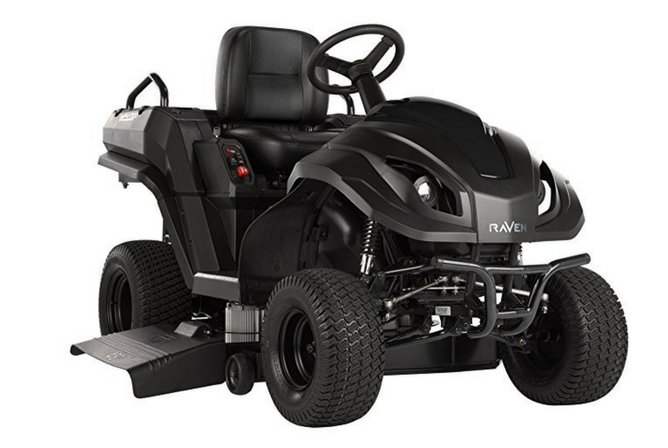 Raven MPV7100 Series Hybrid Riding Lawnmower Power Generator and Utility Vehicle full view