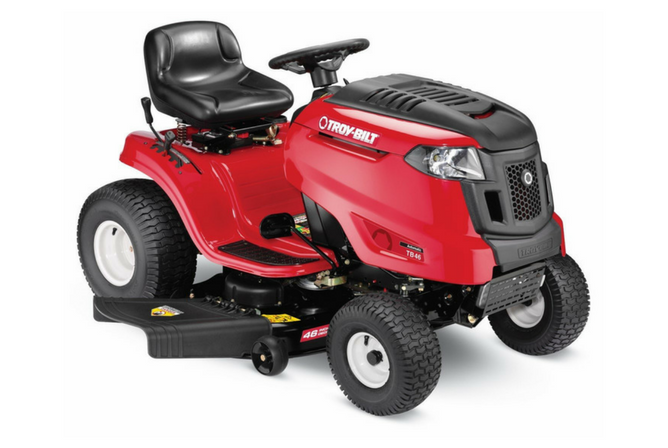 Troy-Bilt TB46 19HP540cc Intek 46-Inch Automatic Riding Lawn Tractor full view
