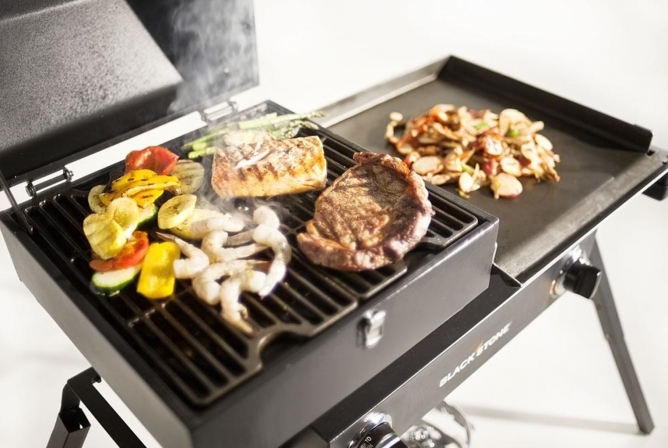 Blackstone Tailgater Gas Grill Review Grill Top