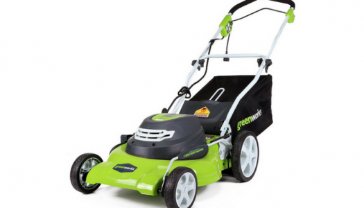 GreenWorks 25022 12 Amp Corded 20-Inch Lawn Mower Review
