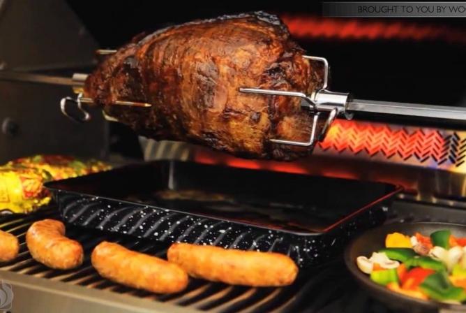 Napoleon Prestige 500 Propane Grill Review Infrared Rear Rotisserie Burner