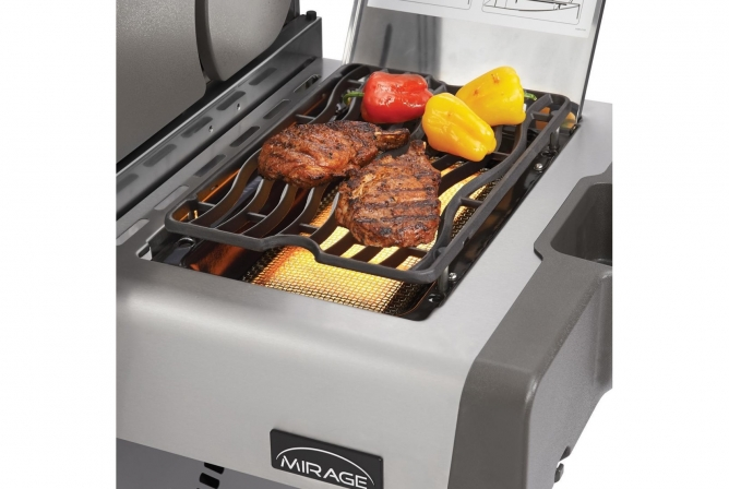 Napoleon Prestige 500 Propane Grill Review Infrared Sizzle Zone Side Burner