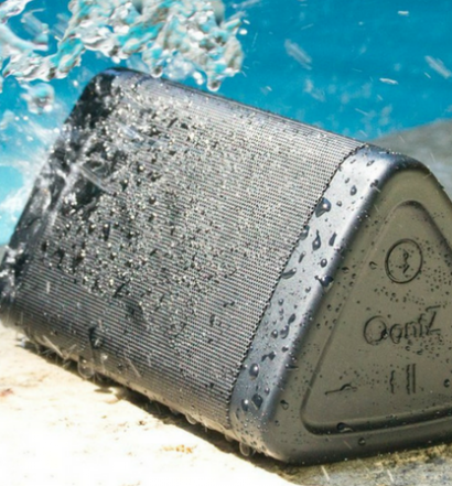 OontZ Angle 3 Portable Bluetooth Speaker Review waterproof