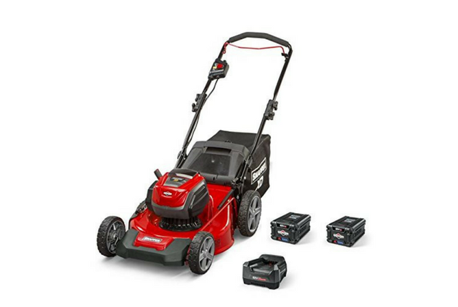"Snapper XD SXDWM82K 82V Cordless 21"" Walk Mower full view"