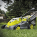 "Sun Joe iON16LM 40 V 16"" Cordless Lawn Mower in use"