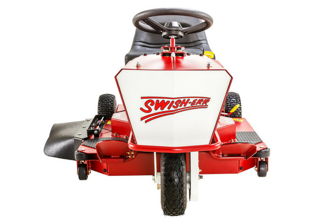 Swisher TWR10532BS 10.5HP Ride King Review front view