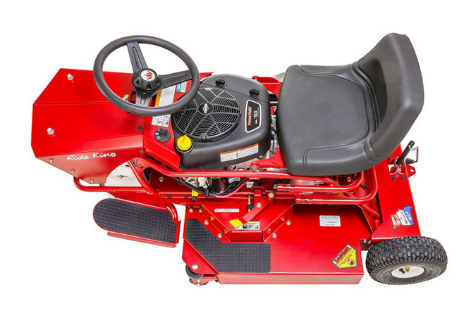 Swisher TWR10532BS 10.5HP Ride King Review top view