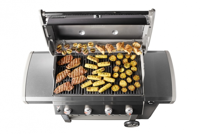 Weber Genesis II E-410 Propane Grill Review Grill Size