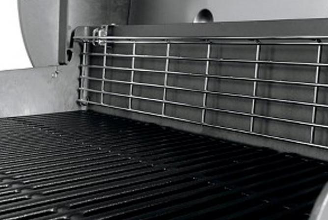 Weber Genesis II E-410 Propane Grill Review Tuck Away Warming Rack