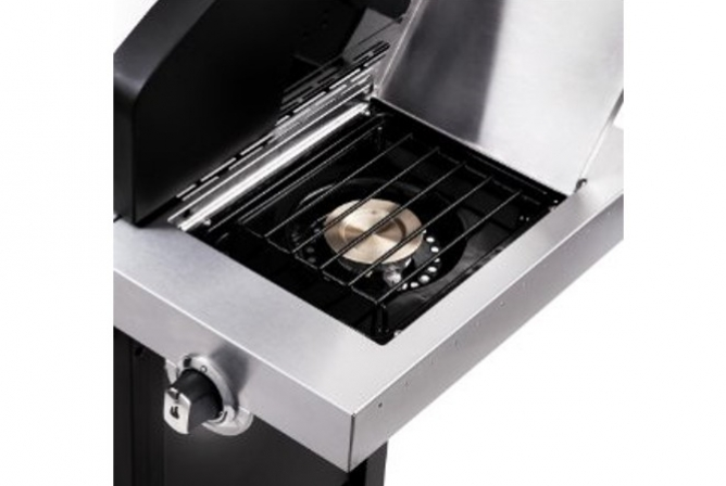 Char-Broil Signature Tru-Infrared 3 Burner Gas Grill Review Side Burner