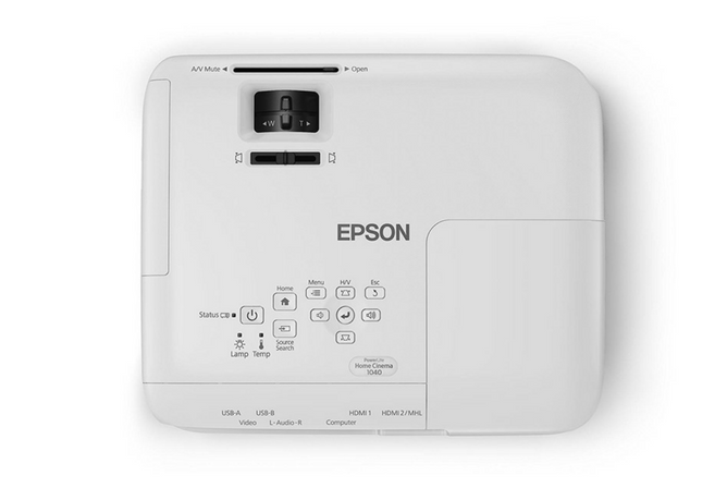 Epson Home Cinema 1040 1080p Home Theater Projector top