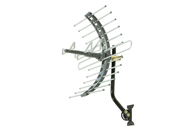GE 29884 Pro OutdoorAttic Mount Antenna side view