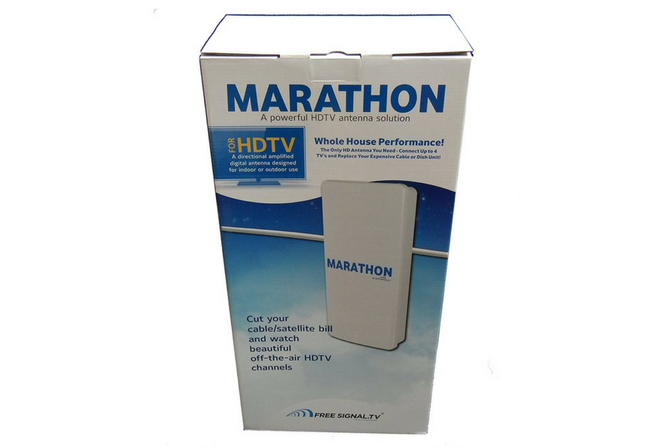 Marathon HDTV Long Distance Antenna in box