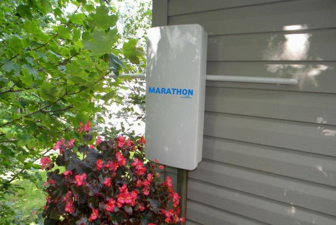 Marathon HDTV Long Distance Antenna outside