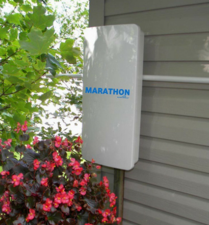Marathon HDTV Long Distance Antenna outside