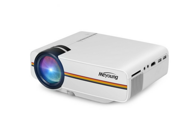 Meyoung Tc80 Led Mini Projector Review Backyardgearspot