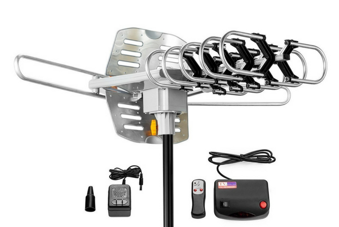 ViewTV Outdoor Amplified Antenna parts
