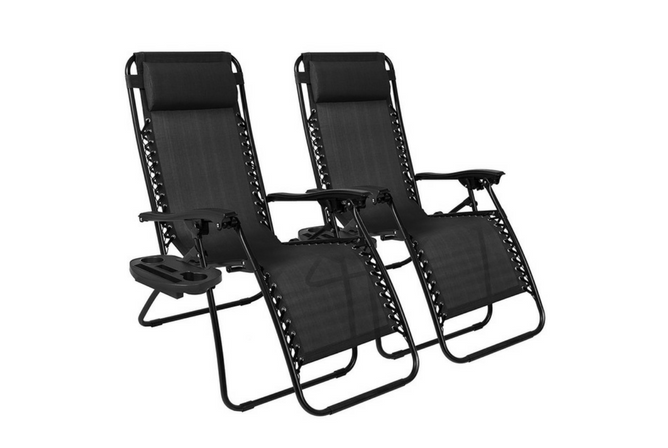 Best Choice Products Zero Gravity Chairs Case Of (2)