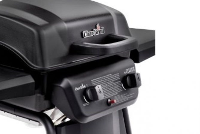 Char-Broil Classic 280 Propane Grill Review Piezo Ignition