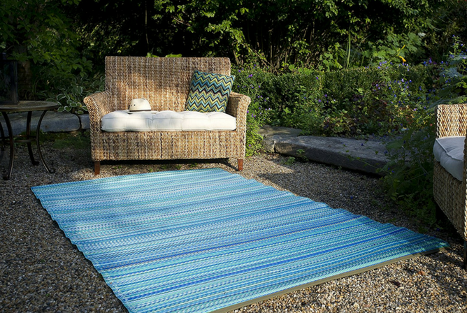 Fab Habitat Cancun IndoorOutdoor Rug