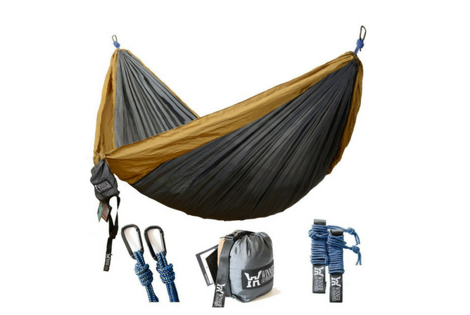 Gold Armour XL Double Parachute Camping Hammock
