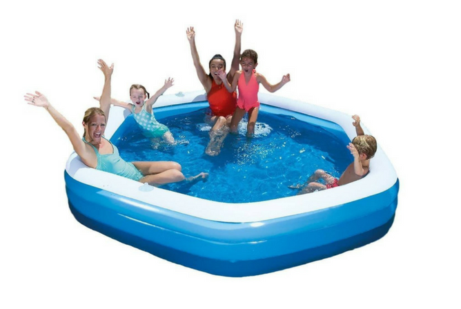 H2O GO Bestway Hexagon Family Pool