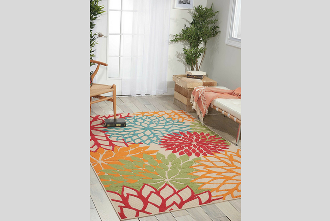 Nourison Aloha Rectangle Area Rug