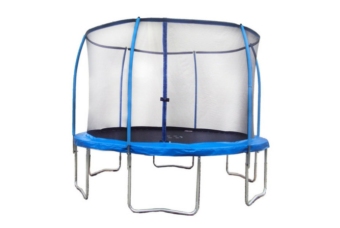 S03 Yongcun Trampoline with Enclosure Outdoor Trampoline full view