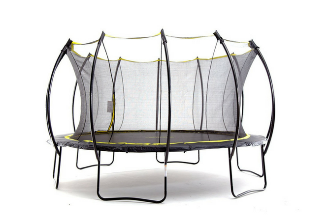 SkyBound Stratos Trampoline with Full Enclosure Net System full view