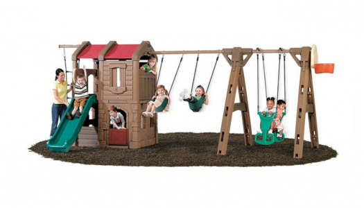 Step2 Naturally Playful Adventure Lodge Play Center Swing Set with Glider Review