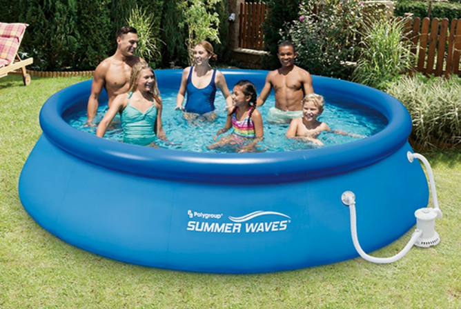 Summer Waves Quick Set Inflatable Pool