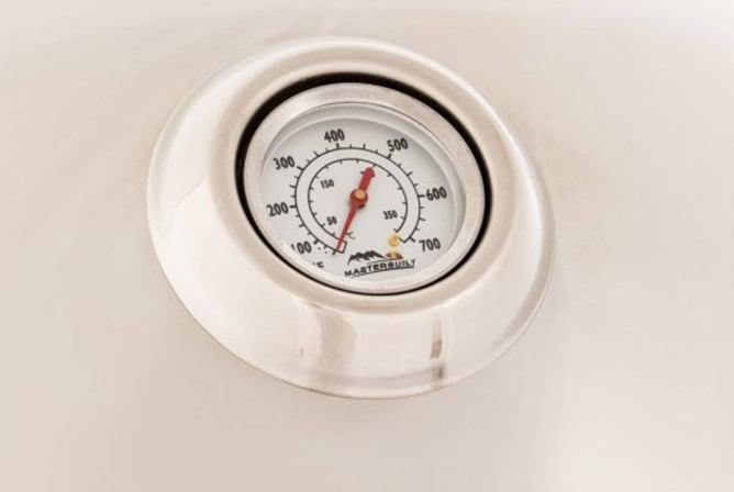 Masterbuilt Electric Veranda Grill Review Lid Thermometer