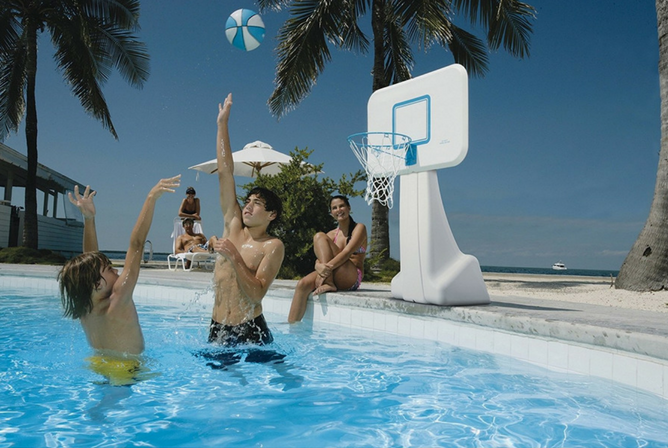 Dunnrite PoolSport pool basketball