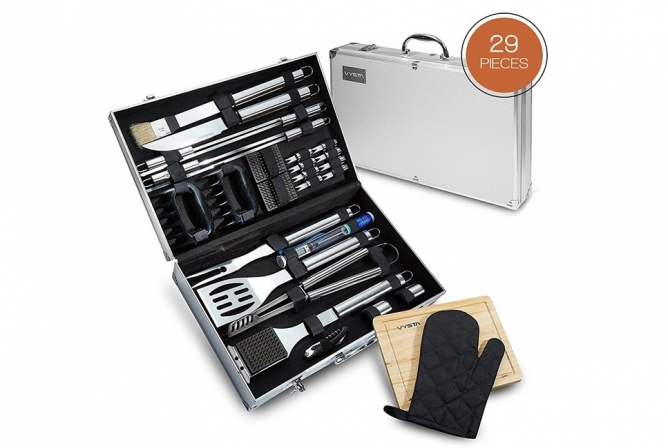 Vysta 29 Piece BBQ Tools Set