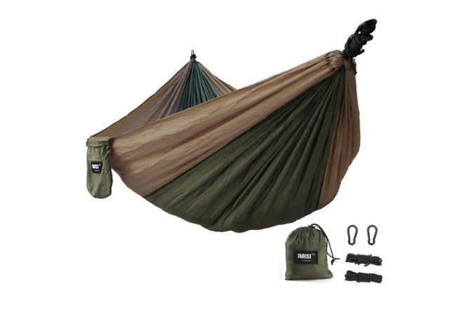 IMISI double camping ultralight nylon hammock